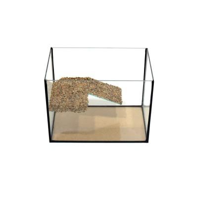 Аквариум для черепахи с мостиком на 54 литра
