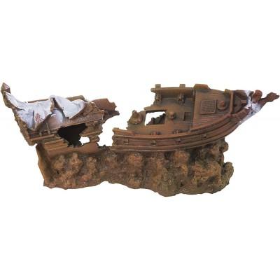Декорация керамическая Обломки корабля
